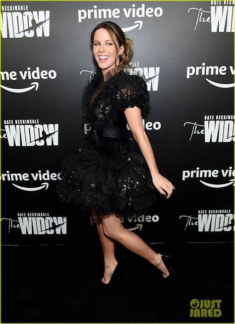 kate beckinsale attends premiere   widow  nyc