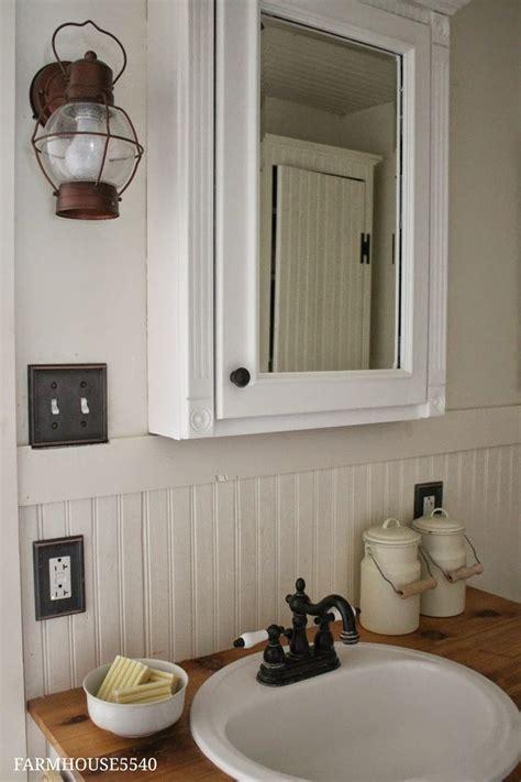 Farmhouse Bathroom Light Fixtures by 28 Best Images About Farmhouse Bathroom On