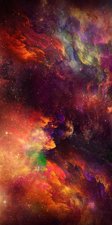 Space wallpaper 4k and 1920x1080. iPhone X Wallpaper space Wallpaper Download - High ...