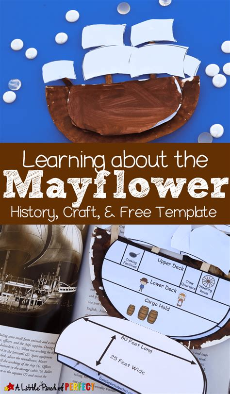 mayflower printable craft  homeschool deals