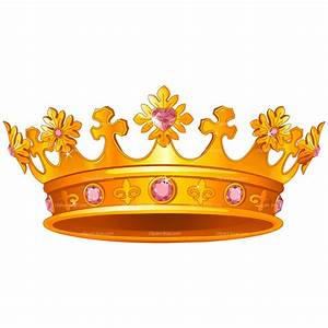 Gold clipart royal crown - Pencil and in color gold ...