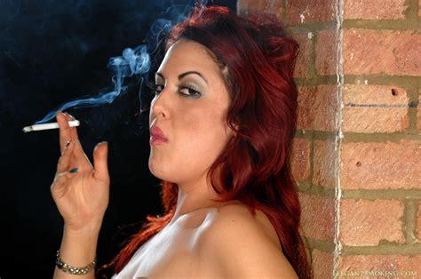 Sexy Redhead Smoking Fetish Fetish Porn Pic