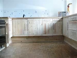 Meuble De Cuisine En Palette : fabriquer meuble salle de bain palette ~ Dode.kayakingforconservation.com Idées de Décoration