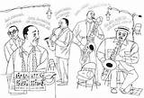 Jazz Coloring Musicians Harlem Pages Music Duke Ellington Renaissance Books Museum History Studio Sheets Paul Sheet Colouring African Drawing Elementary sketch template