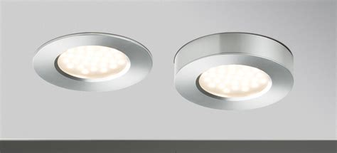 spot led cuisine plat kit 3 spots 3 x 3w plat led intégrée alu paulmann 93547