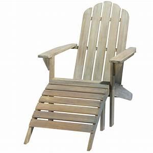 Chaise Jardin Maison Du Monde : chaise longue en acacia gris e ontario maisons du monde ~ Premium-room.com Idées de Décoration