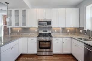 kitchen kitchen backsplash ideas black granite countertops white cabinets front door storage