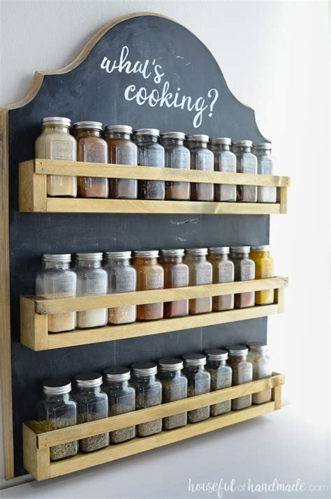 Timber Spice Rack by Wooden Spice Rack Build Plans A Houseful Of Handmade