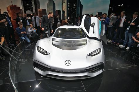Mercedes-amg Project One Revealed