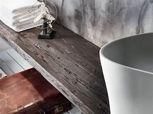 Plan De Toilette Bois : via veneto plan de toilette en bois by falper design ~ Teatrodelosmanantiales.com Idées de Décoration