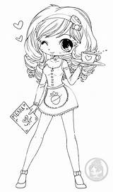 Coloring Cute Yampuff Want Chloe Childhood Lineart Winks Pages Adult sketch template
