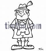 Drawing Swiss Lederhosen Timtim Bw Tourism Holidays Category Drawings Getdrawings sketch template