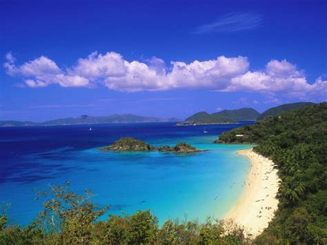 Trunk Bay Us Virgin Islands Wallpapers Hd Wallpapers