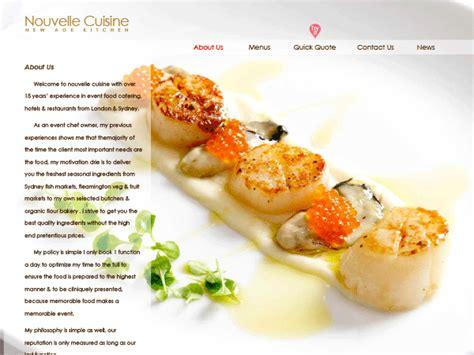 nouveau cuisine nouvelle cuisine various