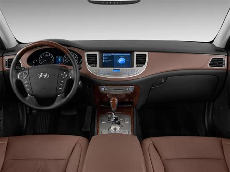 image  hyundai genesis  door sedan  dashboard