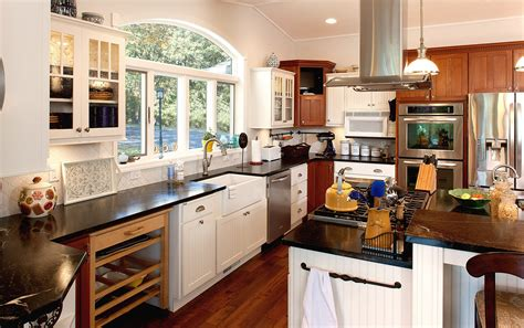 beautiful transitional kitchen examples