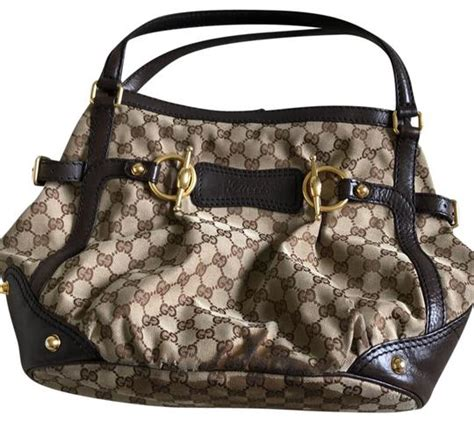 gucci vintage canvas monogram hobo bag tradesy