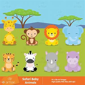 Baby Shower Jungle Animals Clipart (74+)