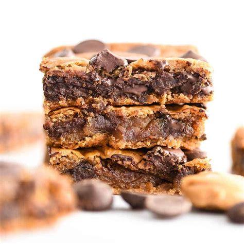 Healthy Peanut Butter Blondies And Video Joyfoodsunshine