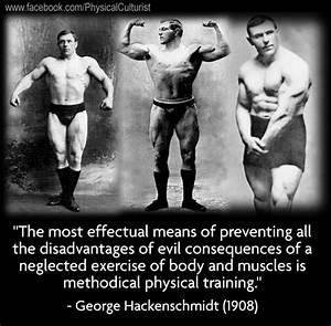 George Hackensc... George Hackenschmidt Quotes