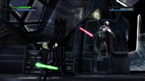 force unleashed luke skywalker  darth vader father