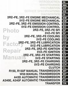 2000 Toyota Tacoma Factory Service Manual Set Original