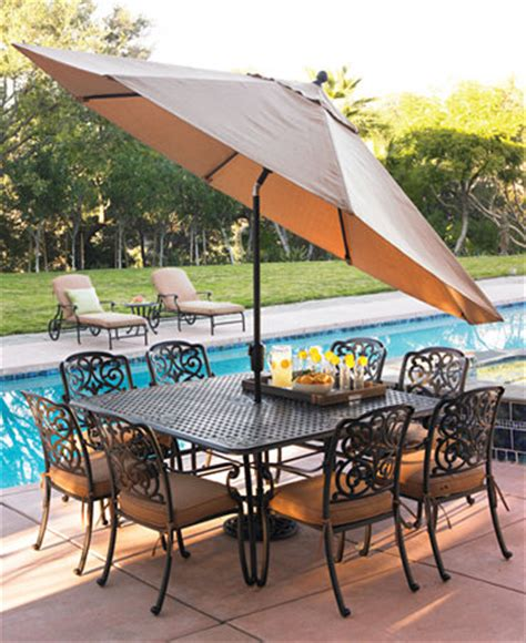 montclair outdoor patio furniture dining sets pieces