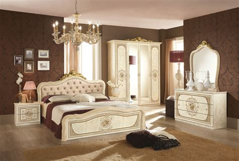 schwarz gold schlafzimmer schlafzimmer 6 teilig in schwarz gold barock mit polsterung 180x200 cm mit schrank 6