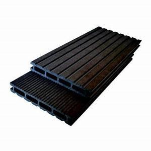 Lame De Terrasse Composite Castorama : lame de terrasse composite aze brun x cm ~ Dailycaller-alerts.com Idées de Décoration