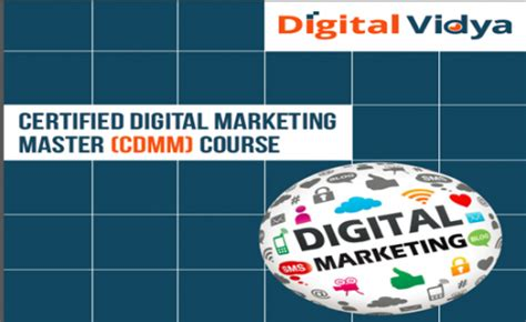 master digital marketing digital marketing master certification cdmm course