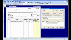 Invoice generator software free printable invoice for Invoice generator program