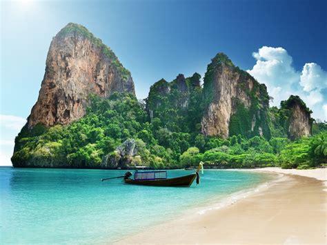 Thailand Island Beautiful Scenery Hd Wallpaper 14234 ...