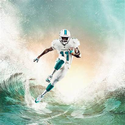Miami Nike Uniform Dolphins Wallace Uniforms Nfl