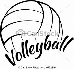 Vector - Volleyball with Fun | Clipart Panda - Free ...