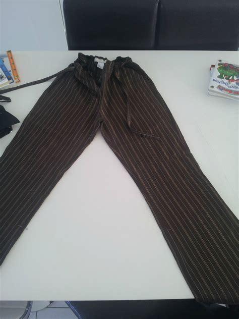 Un Pantalon Transformé En Sarouel  Angele En Tissus Ou En
