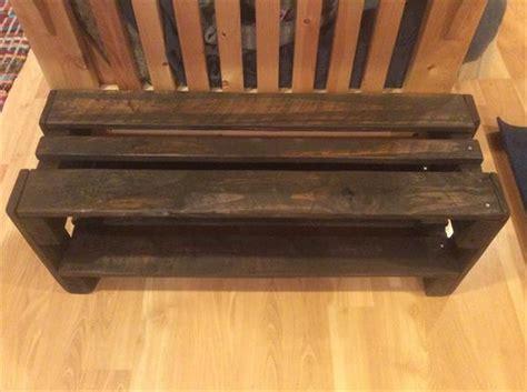 diy pallet shoe rack pallet furniture plans