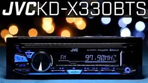Jvc Kd-x330bts Single Din Radio - No Cd Player