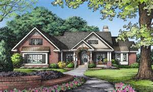 One Story Brick Ranch Houses