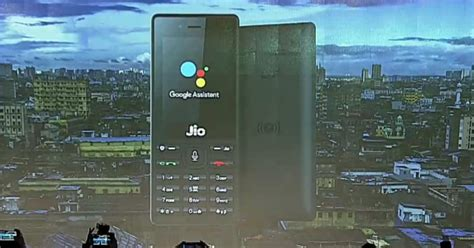 jio phone to get assistant for the time