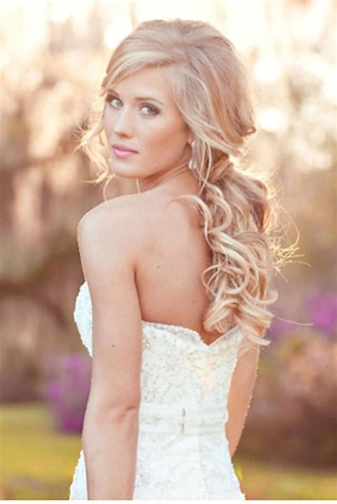 overwhelming half up half down wedding hairstyles pretty designs