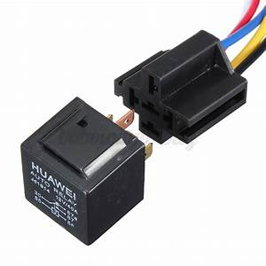 12v 30  40 Amp 5 Pin Car Air Horn Light Spdt Relay With