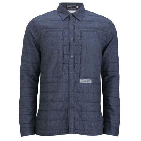 quilted shirt mens jones s reader quilted shirt dress blue mens