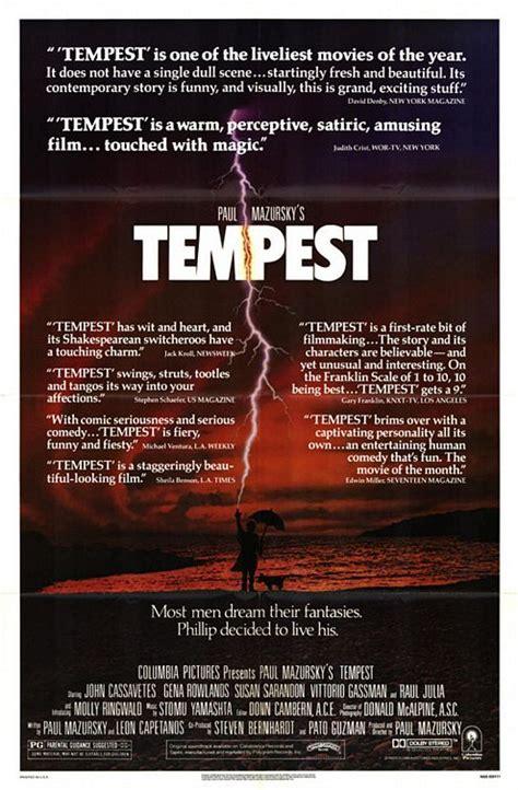 the tempest modern tempest 1982 mazursky s modern day shakesperean tale emanuel levy