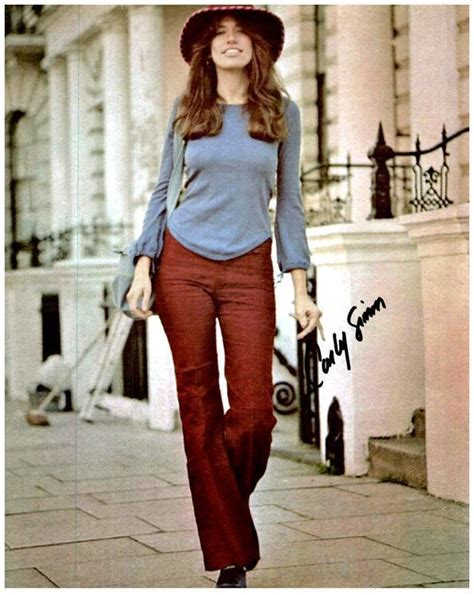 CARLY SIMON Original Authentic Autographed Signed Photo w ...
