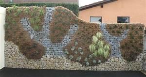 Mur En Gabion : mur en gabion sez l 39 int grer dans votre propre jardin ~ Premium-room.com Idées de Décoration