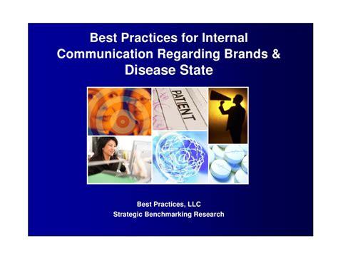 Best Practices For Internal Communications Regarding