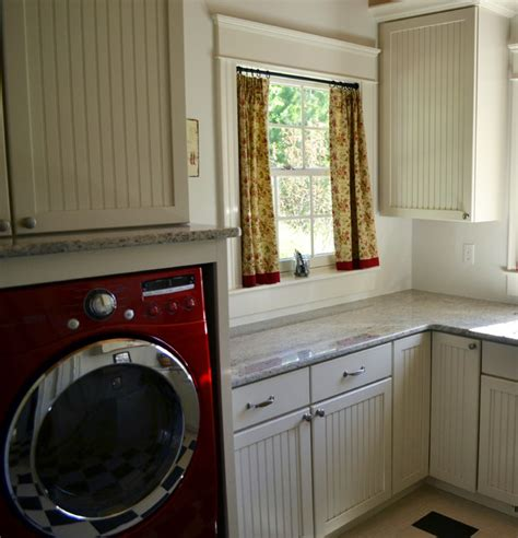 cafe curtains farmhouse laundry room other by