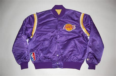 ottos bodega los angeles lakers vintage starter jacket