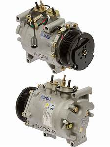New Ac A  C Compressor Fits  2002 2003 2004 2005 2006 Honda Crv Cr
