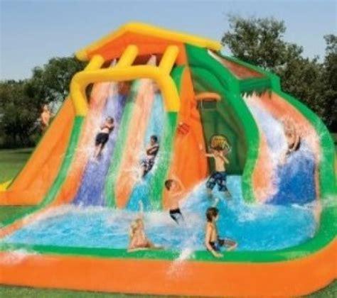 Best Backyard Water Slides by Best Backyard Water Slide Outdoor Furniture Design And Ideas